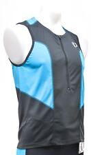 Pearl Izumi SELECT Pursuit Sleeveless Triathlon Jersey Men MEDIUM Blue Tri top