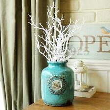 New 3Pcs Manzanita Tree Branch 36cm H White Colour Twig Stick Wedding Home Decor
