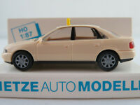 "Rietze 30650 Audi A4 Limousine (1994) ""TAXI"" in hellelfenbein 1:87/H0 NEU/OVP"