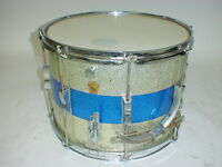 """Vintage 60's Ludwig Marching Snare Drum 1960's 14"""" X 11"""""""