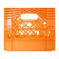 Orange Milk Crate
