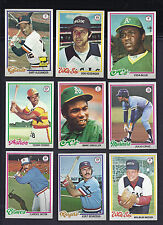 1976, 1977, 1978 & 1979 TOPPS BB ~ PICK 30 COMPLETE YOUR SET ~ EX-NM ~BIG LIST
