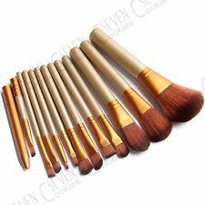 12PCS/SET Professional PRO Makeup Brush Set Make up Foundation Powder Brush US