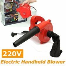 Electric Handheld Leaf Blower Powerful Corded for Blow Dust Computer Car Vacuum
