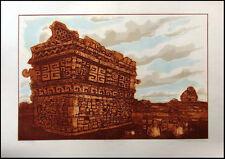 Dean Meeker Los Manjas Original Signed Intaglio Collagraph Artwork Make Offer