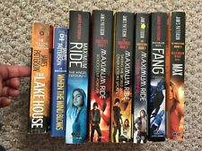 MAXIMUM RIDE JAMES PATTERSON SET 8 BOOKS LAKE HOUSE WIND BLOW MAX FANG SCHOOL ++