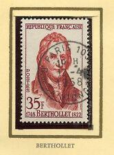 STAMP / TIMBRE FRANCE OBLITERE N° 1149 / CELEBRITE / CLAUDE LOUIS BERTHOLLET