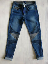 Pepe London LOLA DELUXE -1 Super-SKINNY 7/8 mid Jeans Hose Gr 34 36 W27/L28 Neu