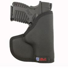 """N Pocket Holster Ruger LC9, EC9S; PPS M2; Nano; XDS 3.3"""";  Glock 42 W/ CT LG-..."""