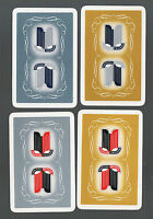 Playing Swap Cards 4 GENUINE  VINT TRIUMPH  MOTOR ADVERTISING  # 269 SET OF FOUR
