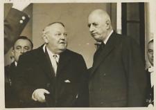 Le général Charles de Gaulle Vintage silver print   Tirage argentique  18x