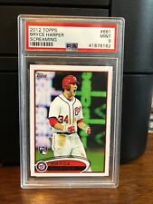 2012 Topps Bryce Harper Nationals Screaming Rookie Card #661 PSA 9 Mint