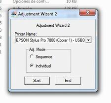 Adjustment Program Epson Stylus Pro 7800
