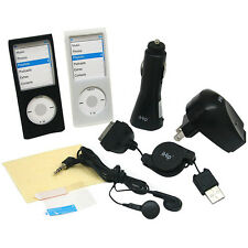 Zeikos IP-NANOK2 Ihip 8-in-1 4G Ipod Nano Accessory Kit