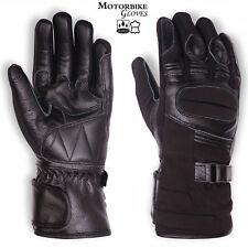 Motorbike Winter Leather Wind Breaker Thinsulate Hipora Waterproof Biker Gloves