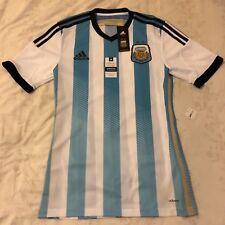 ARGENTINA ADIDAS ADIZERO AUTHENTIC PLAYER ISSUE 2014/15 FOOTBALL JERSEY SHIRT S