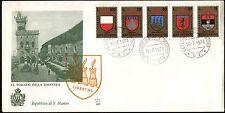 San Marino - 1974 - 9° Torneo della balestra - Busta FDC