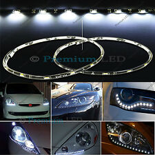 "Audi Style White 15-SMD LED 12"" Side Shine DRL Driving Headlight Strip Light #44"