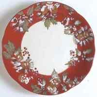 Tracy Porter JOLLY OL SNOWY Holly Dinner Plate 7356422