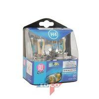 2x H4 XENON HEADLIGHT BULBS HEAD LAMPS SET BRIGHT MEGA WHITE 12V 60W/55W