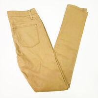 Country Road Women's Size 8 Tan Brown Zip Fly Stretch Skinny Skinny Jean Pants