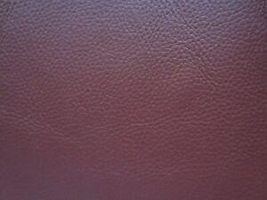PIECE GENUINE LEATHER OX BLOOD 30x25cm SUEDE SCRAP/REMNANT/OFFCUT/REPAIR PATCH