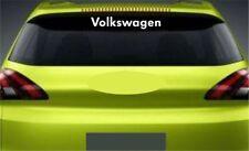 Rear Window Sticker Fits VW Volkswagen Golf Polo Premium Qaulity Decals RL108