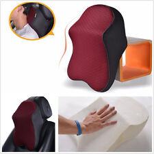 Car Seat Headrest Head Pillow Pad Memory Foam Travel Neck Rest Support Cushion