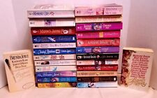 Historical Romances Lot of 26 Paperbacks Rosemary Rogers and more