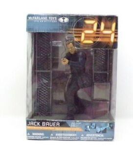 Mcfarlane toys Jack Bauer  24 figure Boxed Never Been Out The Packaging