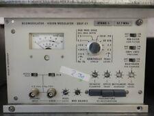 Rohde & Schwarz Vision Modulator 32.7 MHz SBUF-E1 Stand. L #230