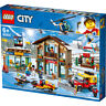 Lego City Ski Resort with Helicopter, Truck & Snowmobile Building Set - 60203