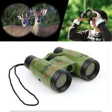 Toys Children Binoculars Educational Telescopes Shape Colors Camouflage Green To