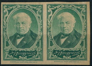 U.S.A., CLASSIC UNCHECKED MINT PAIR OF POSTER STAMPS OR LOCALS? #K605