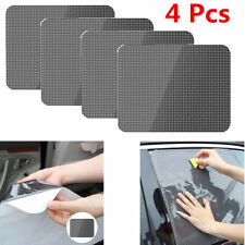 4 Sheets Washable Car Window Tint Film Anti Sunshine Easy to Stick On & Peel Off