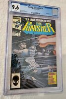 Punisher Limited Series #1 (1986) CGC 9.6 White Pages! 1st Solo! Zeck Cover!