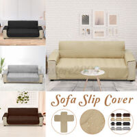1/2/3 Seat Sofa Cover Couch Loveseat Slipcover Kids Pet Dog Mat Water