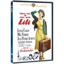 LILI.  Leslie Caron. Hi Lili Hi Lo musical (1953). Region free. New sealed DVD.