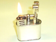 "DUNHILL ""Unique"" liftarm Lighter-SILVER PLATED-Pat. 143752-Inghilterra-RARE"