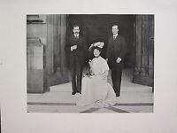1905 Politica Stampa + Testo ~ Lady Louise Loder & Mr Gerald ~ Cochrane M.P