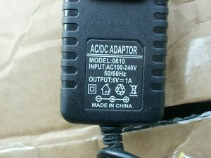 6V 1A Power Supply Adapter Charger AC DC Transformer