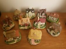 Olde England's Classic Cottages Lot Of 10