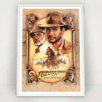 INDIANA JONES and the Last Crusade - 1989 - 80s Classic Vintage Movie Poster Pri