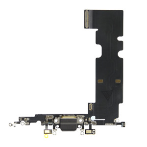 iPhone 8 Plus Charging Port Dock Microphone Replacement Flex Cable BLACK