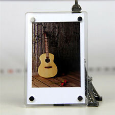 2PCS QUALITY PREMIUM CLEAR ACRYLIC BLANK FRIDGE MAGNETS PHOTO FRAME 90 * 60 mm