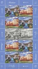 EUROPA CEPT 2012 BESUCHE VISIT - BOSNIEN KROATISCH MOSTAR 337-38 KLEINBOGEN **