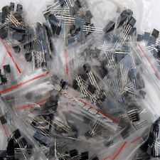 160pcs 16 Values Bipolar Signal Transistor TO-92 NPN PNP Kit Set D001