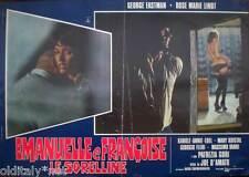 fotobusta 1975 EMANUELLE e FRANCOISE le SORELLINE-Karole Annie Edel-Mary Kristal