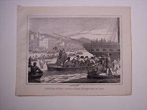 GARIBALDI PARTE DA NAPOLI...PER CAPRERA, Guerra d'Italia 1861 -  Risorgimento
