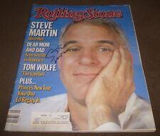 STEVE MARTIN SIGNED ROLLING STONE MAGAZINE #434 NOVEMBER 8, 1984 SNL ACTOR